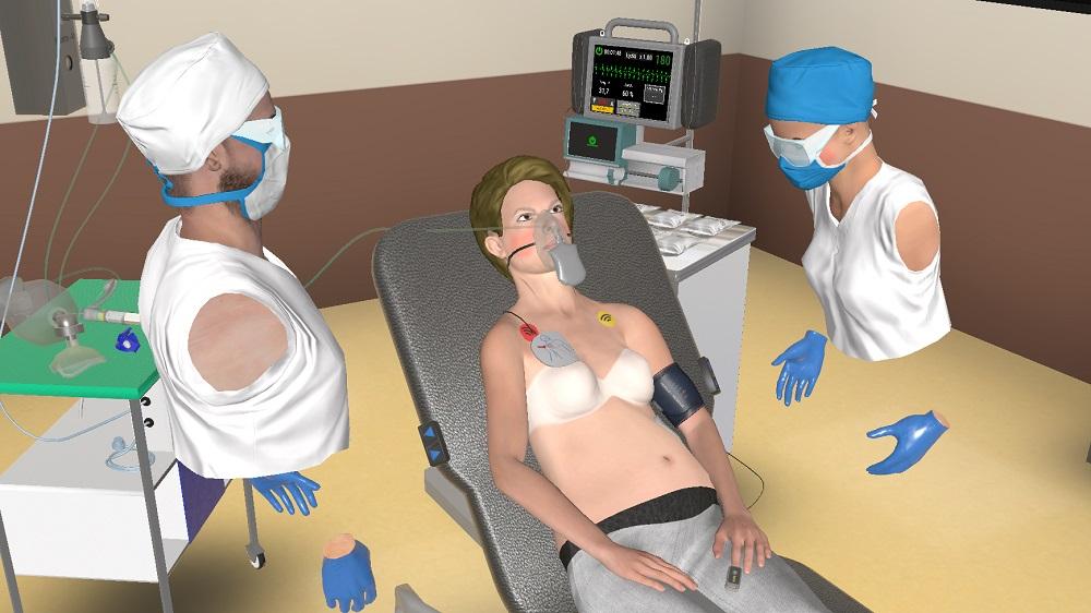 virtual medical simulatioon